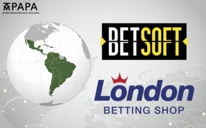 Betsoft London Betting Shop LBS Latin America
