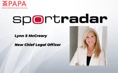 Lynn S McCreary new Chief Legal Officer Sportradar
