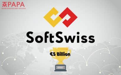 SoftSwiss 5 billion euro bets record