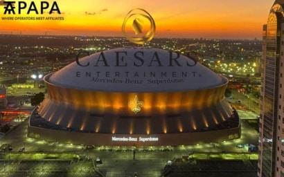 Caesars Entertainment Mercedes-Benz Superdome stadium New Orleans, Louisiana naming rights 2021