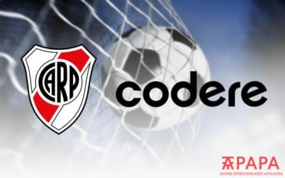 Codere River Plate team partnership Argentina