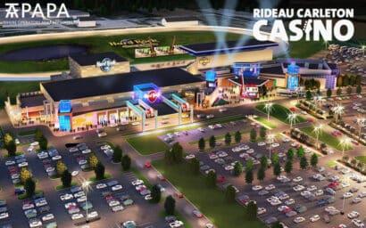 Rideau Carleton Casino Ottawa Ontario Canada reopen