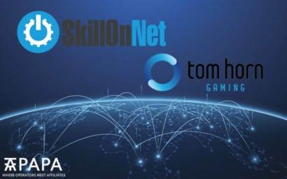 SkillOnNet Tom Horn Gaming partnership Portugal